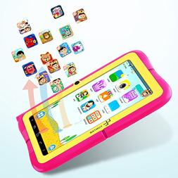 "Yuntab Kids Tablet Q88R 7"" Allwinner A33,1.5Ghz Quad Core"