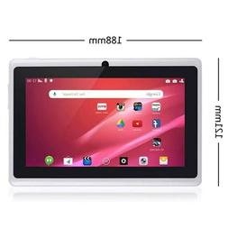 kids WIFI Bluetooth Android Tablet 7 Inch Q88 Tablet With