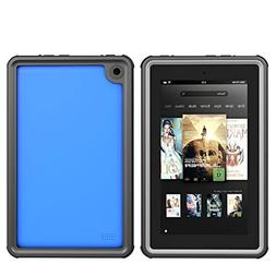 Kindle Fire 7 Case, iThrough Waterproof Underwater Case for
