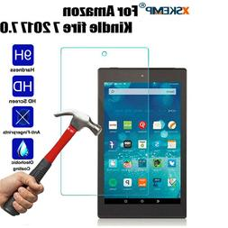 For Kindle Fire 7/HD 8/10 2017 Tempered Glass Tablet Screen