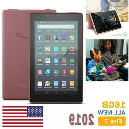 Amazon Kindle Fire 7 Tablet 16GB WiFi 9th Generation with Al