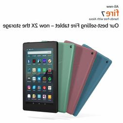 """All-New Amazon Fire 7 Tablet with Alexa 7"""" Display 16 32 GB"""