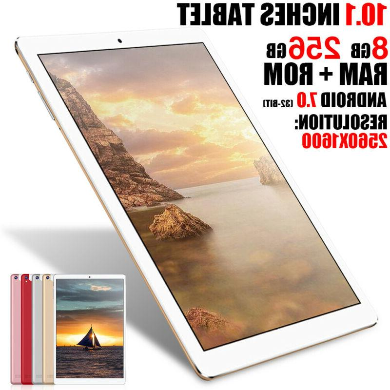10.1'' 128GB/256GB Tablets PC Reader ,Silver,Gold