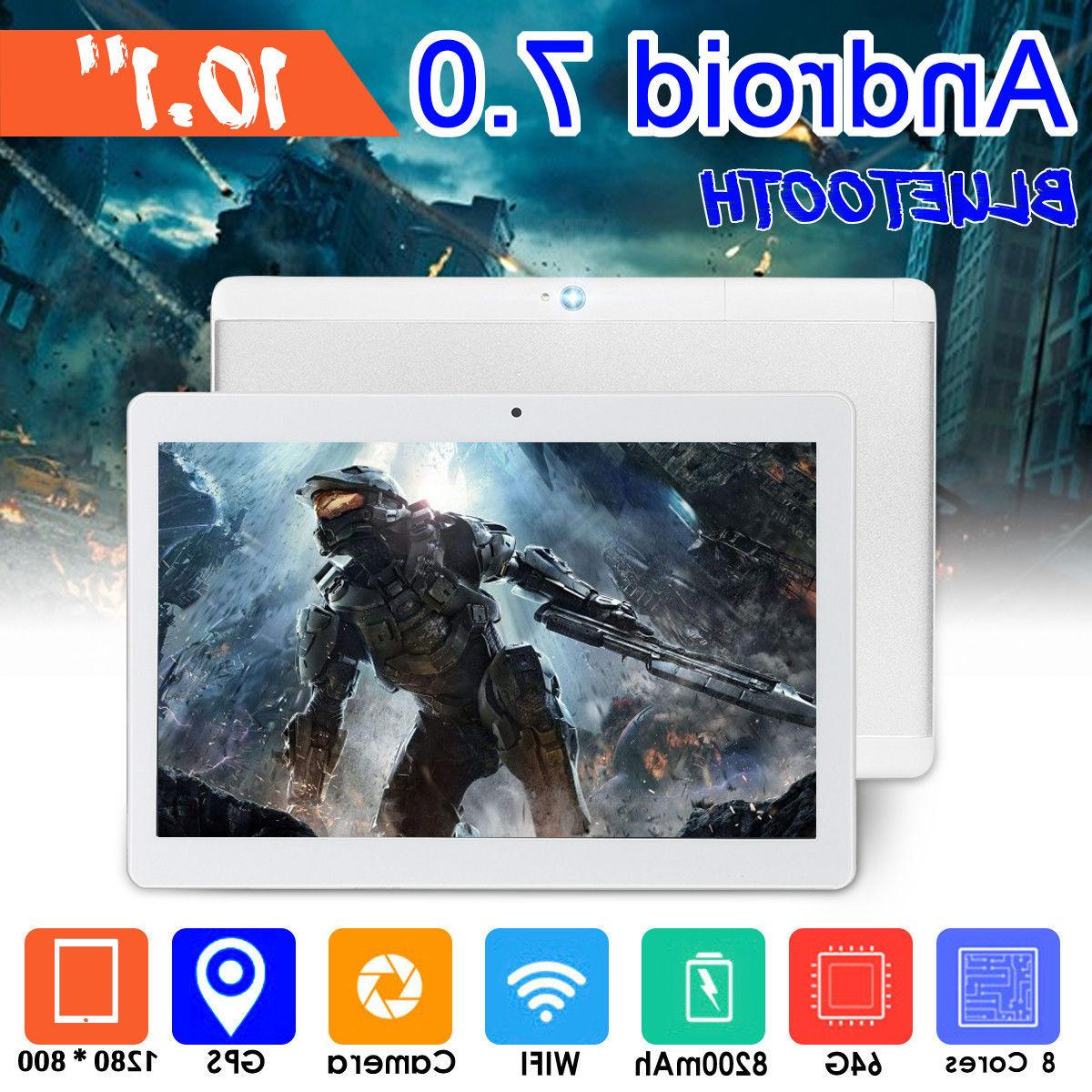 Tablet 10.1 inch 4GB for Android 7.0 Phablet Tablet