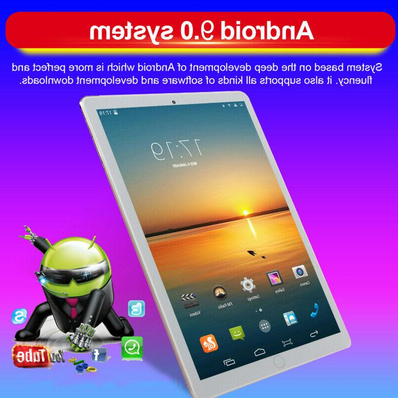 """10.1""""4G-LTE/WiFi Android Pad Dual SIM"""