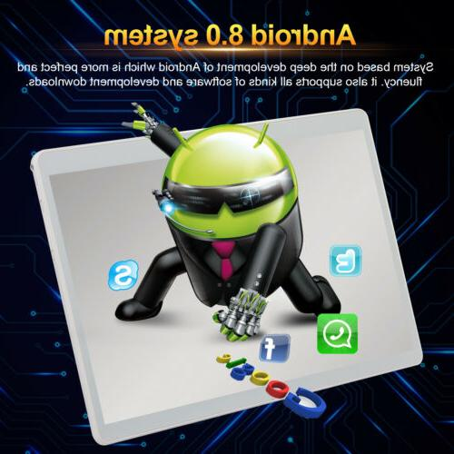 Android 8.0 10.1 HD Tablet Computer Wifi Dual Camera