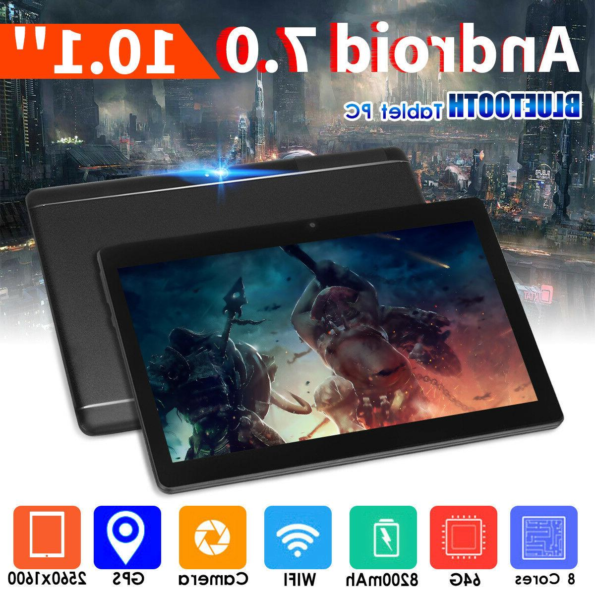 4GB RAM 64GB ROM for Android 7.0 Phablet Tablet HJ