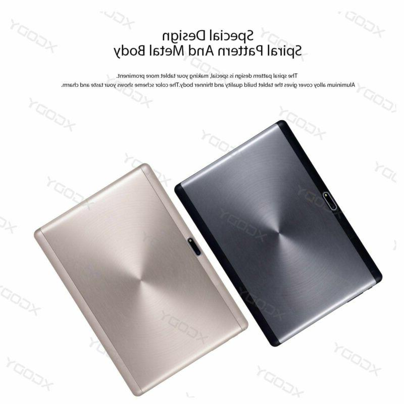 10.1'' Android6.0 Quad Core Inch HD WIFI Sim 3G Phablet