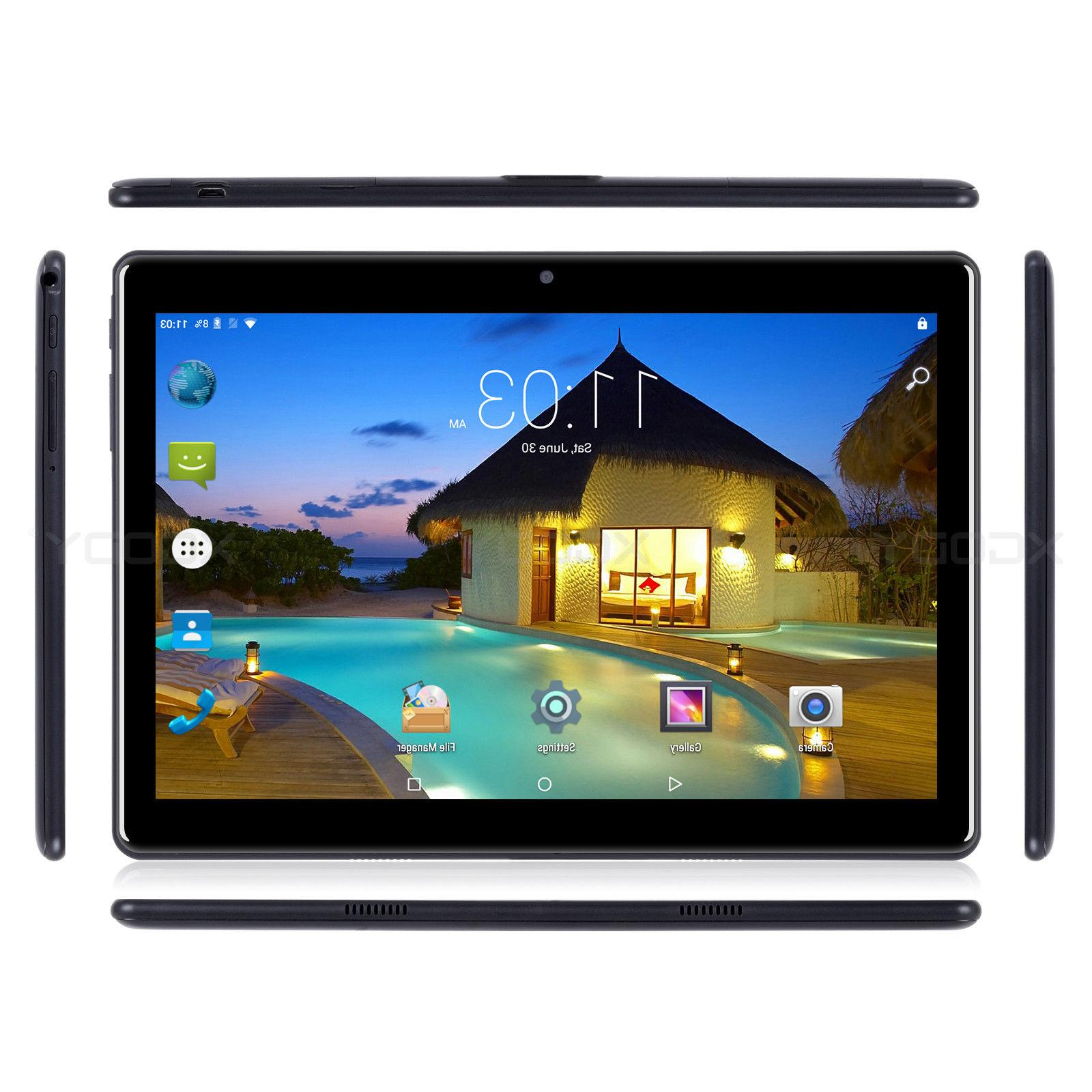 10.1'' Tablet Android6.0 Core 10 Inch Sim 3G Phablet