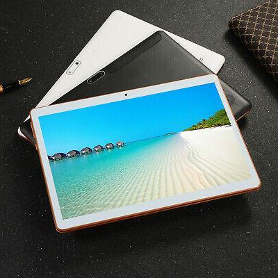 10.1In HD Game Tablet Computer PC Ten Core Android 8.0 GPS 3