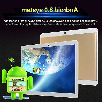 8GB+64GB 4G Mobile Tablet PC 8.0 GPS
