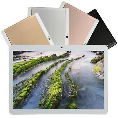 10'' inch HD Tablet PC Android 8.0 bluetooth 64GB WIFI 2SIM