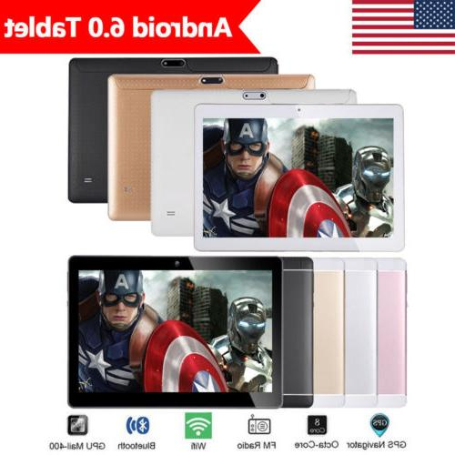 10.1'' Tablet PC Android 6.0 Octa Core 4G+64GB 10 Inch FHD W