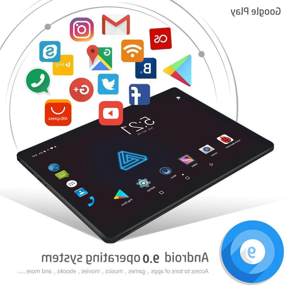 CARBAYTA Tempered Multi-touch Screen 10.1 inch Octa Core 3G LTE <font><b>Tablet</b></font> 6GB RAM ROM 10 Pocke
