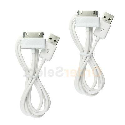 2 usb charger cable cord