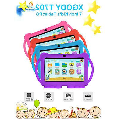 "XGODY 2019 Android 7"" Kids Tablet Dual Camera"