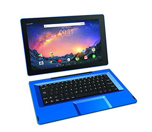 "2019 Galileo 2-in-1 11.5"" Performance Tablet Quad-Core Processor 1GB WiFi Bluetooth Webcam Detachable 6.0"