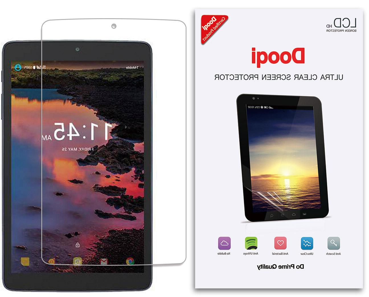 3X Dooqi HD Clear LCD Screen Protector Shield For Alcatel A3