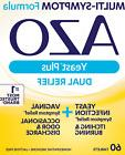 60 TABLETS 8/19 HOMEOPATHIC AZO YEAST PLUS ODOR +3 URINARY T