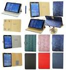 7 - 8 Inch Pu Leather Case Cover Wallet 3Q Acer Alcatel Allv