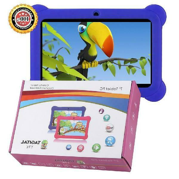 "Tagital 7"" Android Kids Tablet WiFi Camera for Children"
