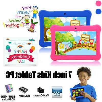"""2018 New version 7"""" Google Android Tablet 8GB Bundle Case fo"""