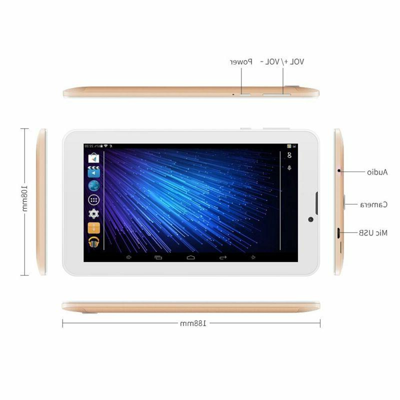 Yuntab Inch Unlocked Android Smartphone/Tablet,Support