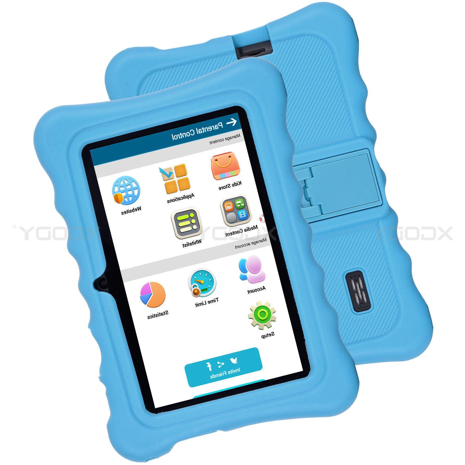 XGODY Quad Android Tablet PC WiFi Webcam Kids