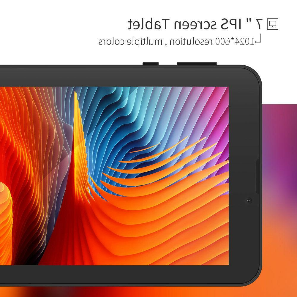 "7"" Core Android Kitkat Tablet 3G Dual Sim"