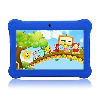"Tagital 7"" T7K Quad Core Android Kids Tablet with Wifi and C"