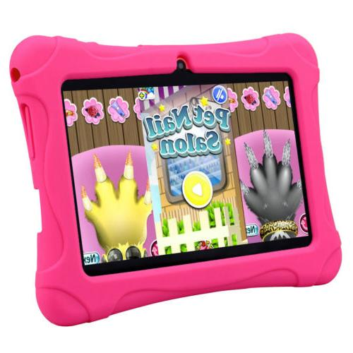 7'' Tablet 16GB Android 4.4 Camera WiFi Core For