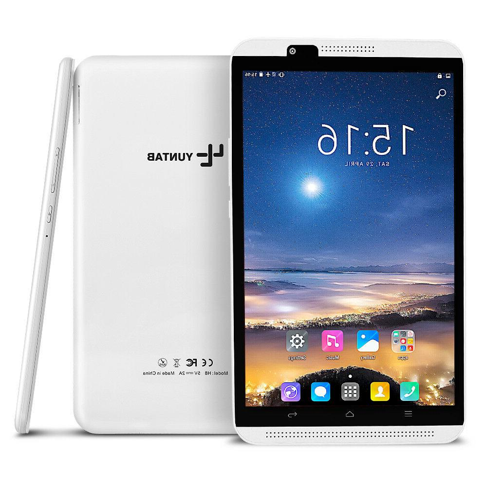 8'' in Android 6.0 Tablet 2in1 Smart Phone Wi-Fi+4G/3G/2G LT