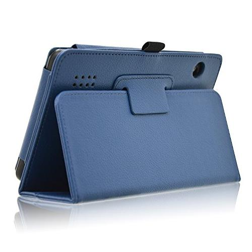ACdream 7 Case, Premium PU Leather Cover Case RCA Voyager II/RCA Voyager III Voyager Pro Tablet, Blue