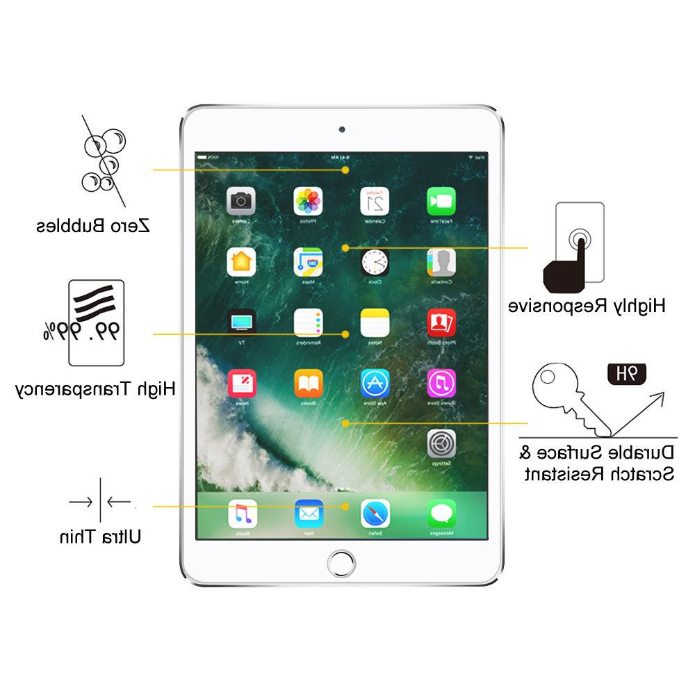 For Inch Tablet Clear Hardness Tempered Glass Protector