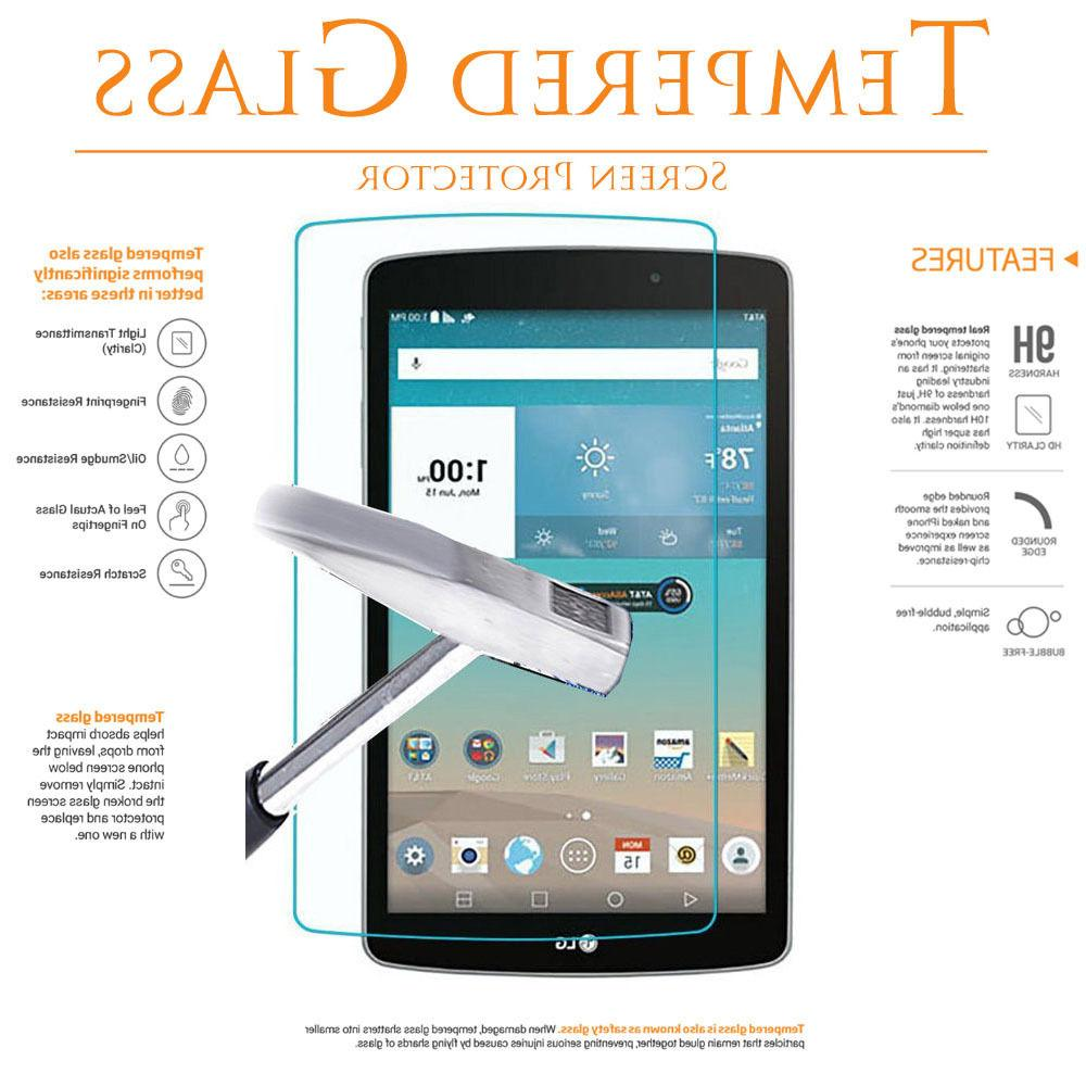 Tempered Glass Tablet Screen Protector for LG G Pad 7 F 8.0