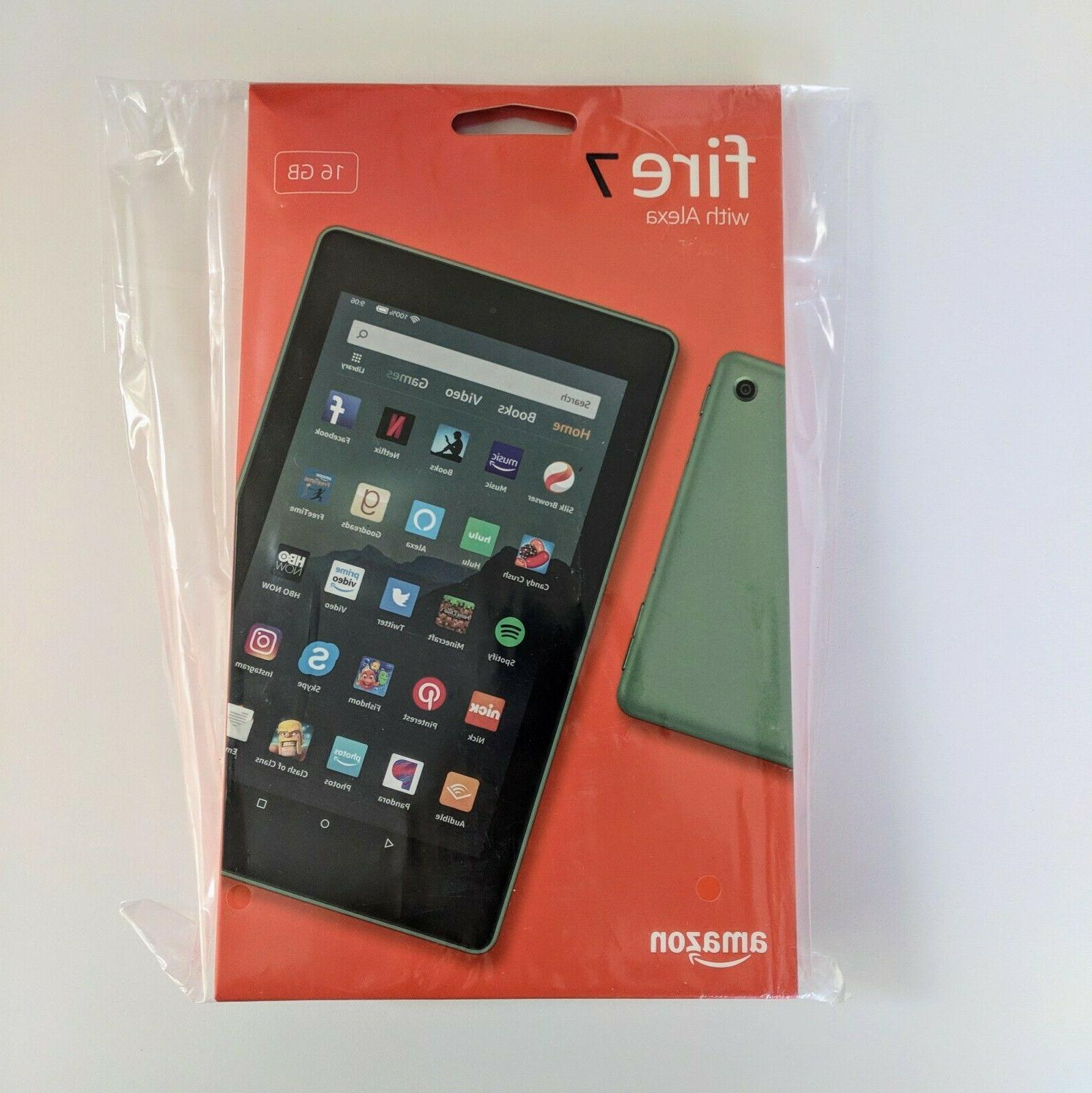 all new fire 7 tablet 7 display