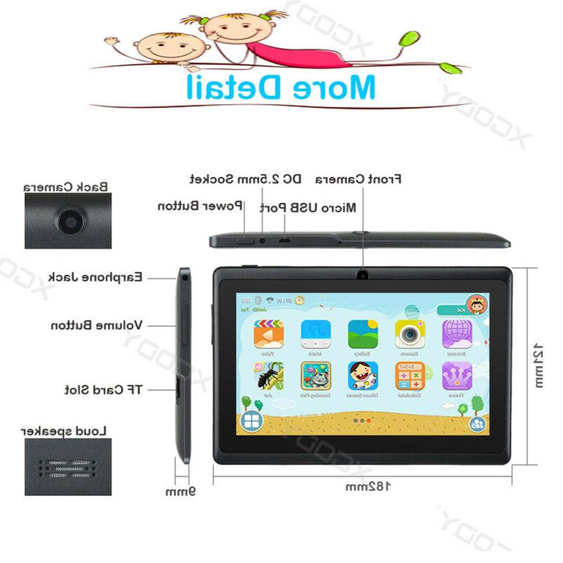 XGODY Android 8GB Dual Camera Tablet PC Kids
