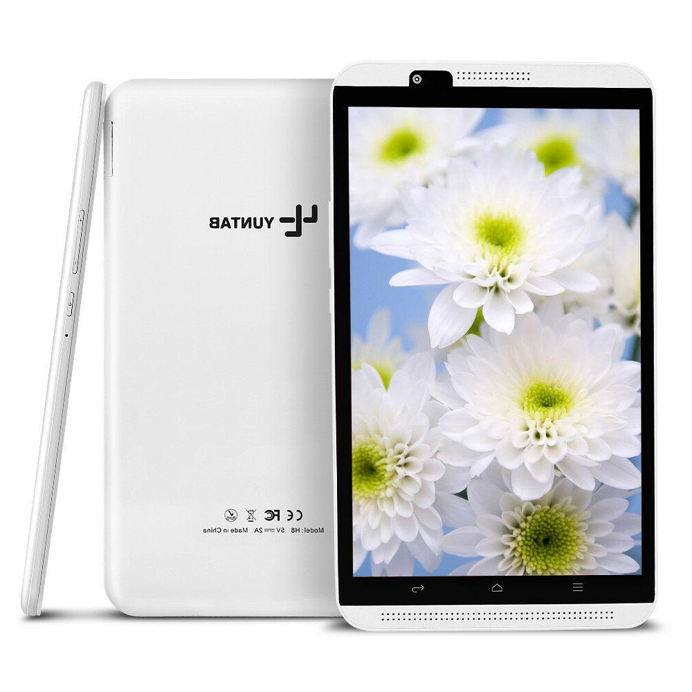 Tablet Android Quad Core 8 in WiFi Gaming Business Phone Out
