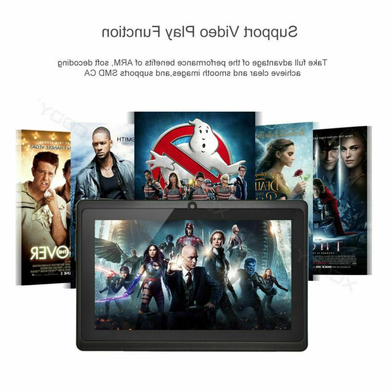 XGODY 8.1 Oreo 16GB 7 INCH Tablet PC Quad-core Bluetooth