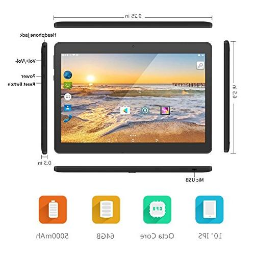 Android 10 with Dual Card Slots MTK Octa RAM 64GB ROM Bluetooth Phone