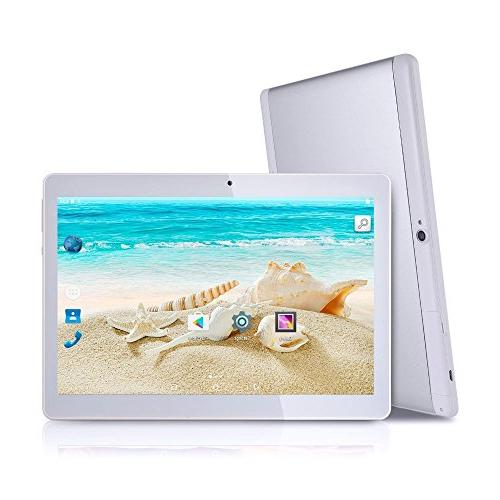 Tagital 10.1 inch 6.0 Quad Dual SIM Cell Tablet 800 Camera, GSM, 2G/3G Phablet
