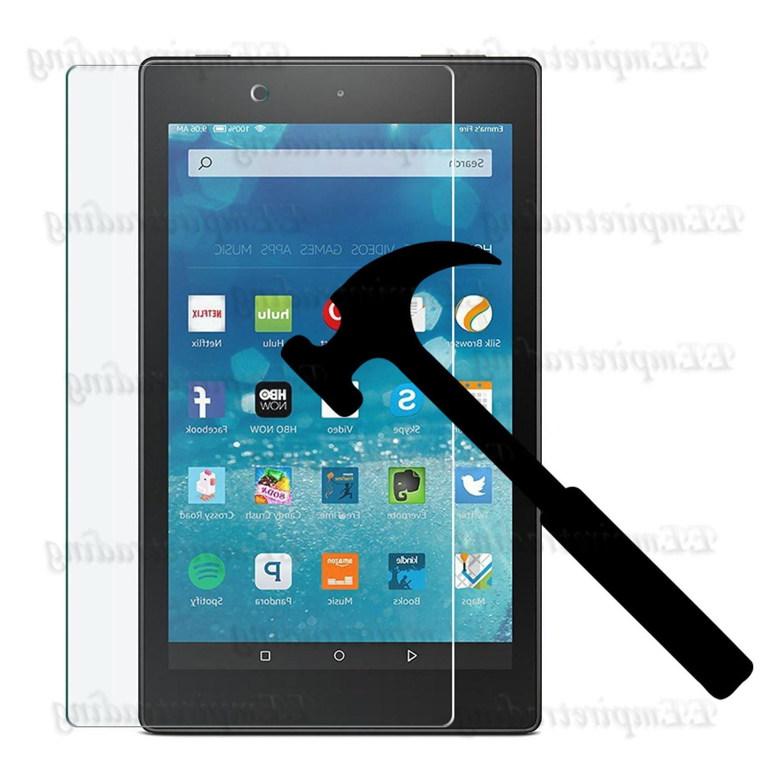 Anti Scratch Tempered Glass Screen Protector For All-New Ama