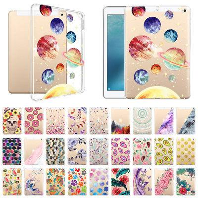 For Apple iPad 9.7 inch 2017 Clear Transparent Slim Soft TPU