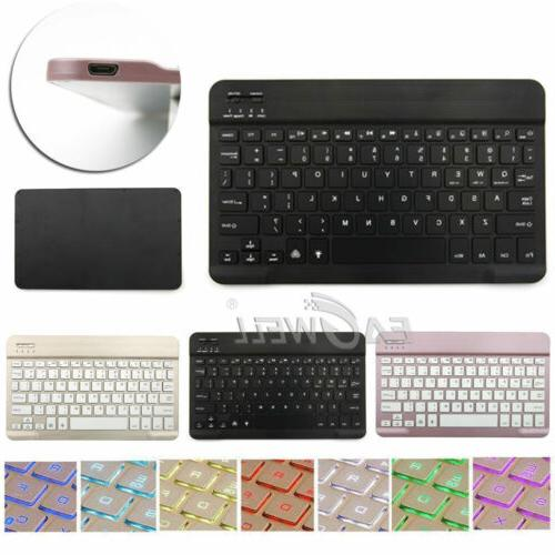 Wireless Keyboard Case Cover For Samsung Galaxy Tab 3/4/E/A/