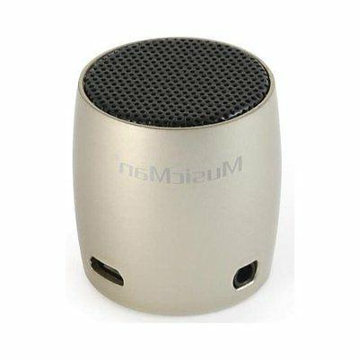 Scosche boomCAN Portable Speaker for Apple Android BlackBerry