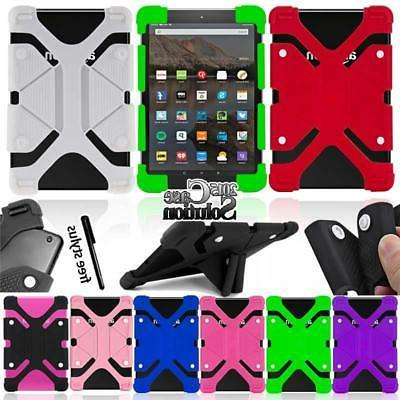 Bumper Silicone Stand Cover Case For Amazon Kindle Fire 7 in