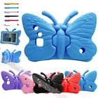 Butterfly Kids Safe Shockproof Case Cover For Samsung Galaxy