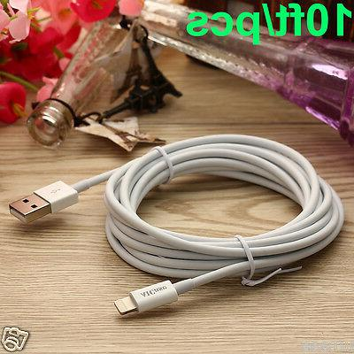 10ft Cable Apple Certified MFI Lightning Sync Data Cord Char