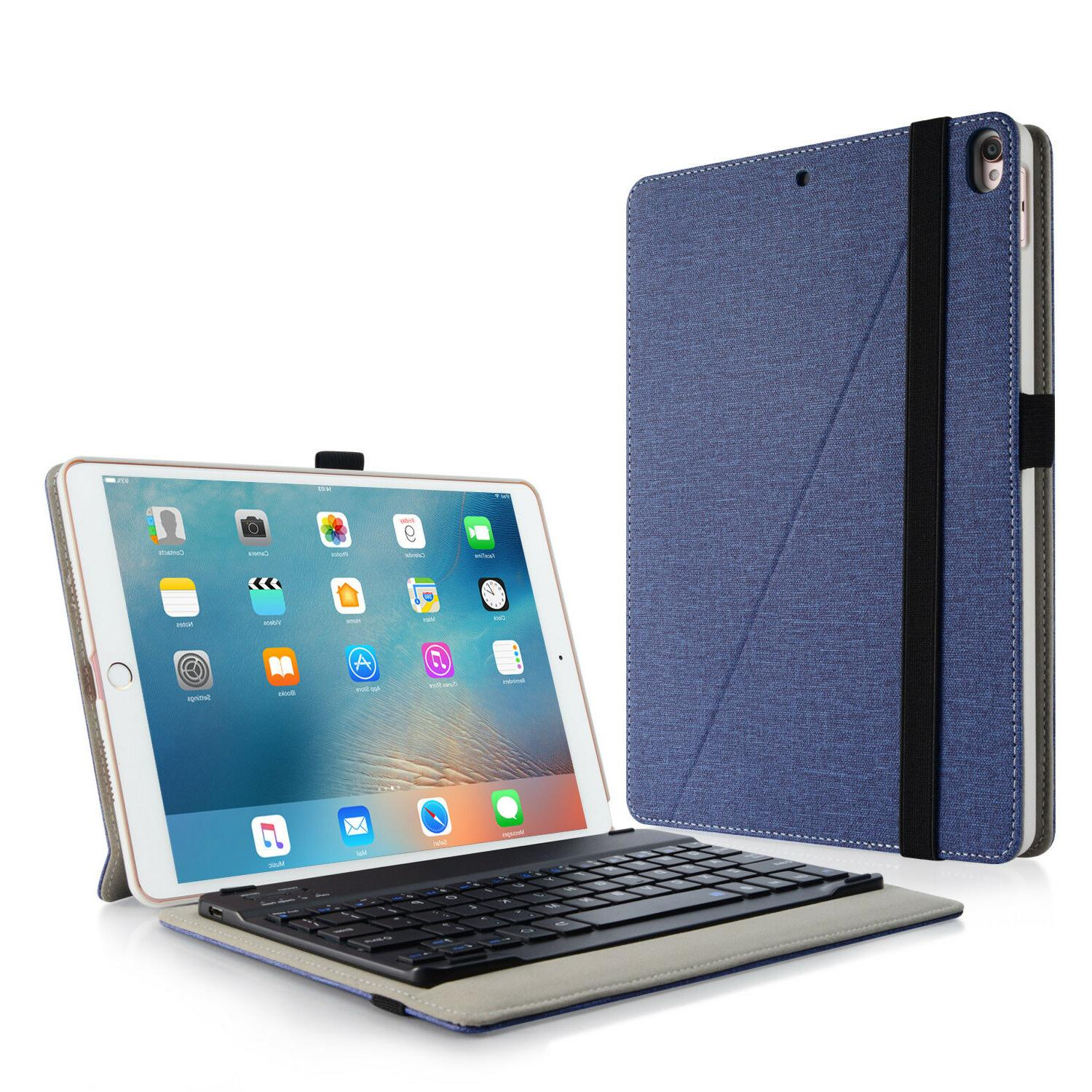 Detachable Infiland BT Keyboard Case Cover For Apple iPad Pr