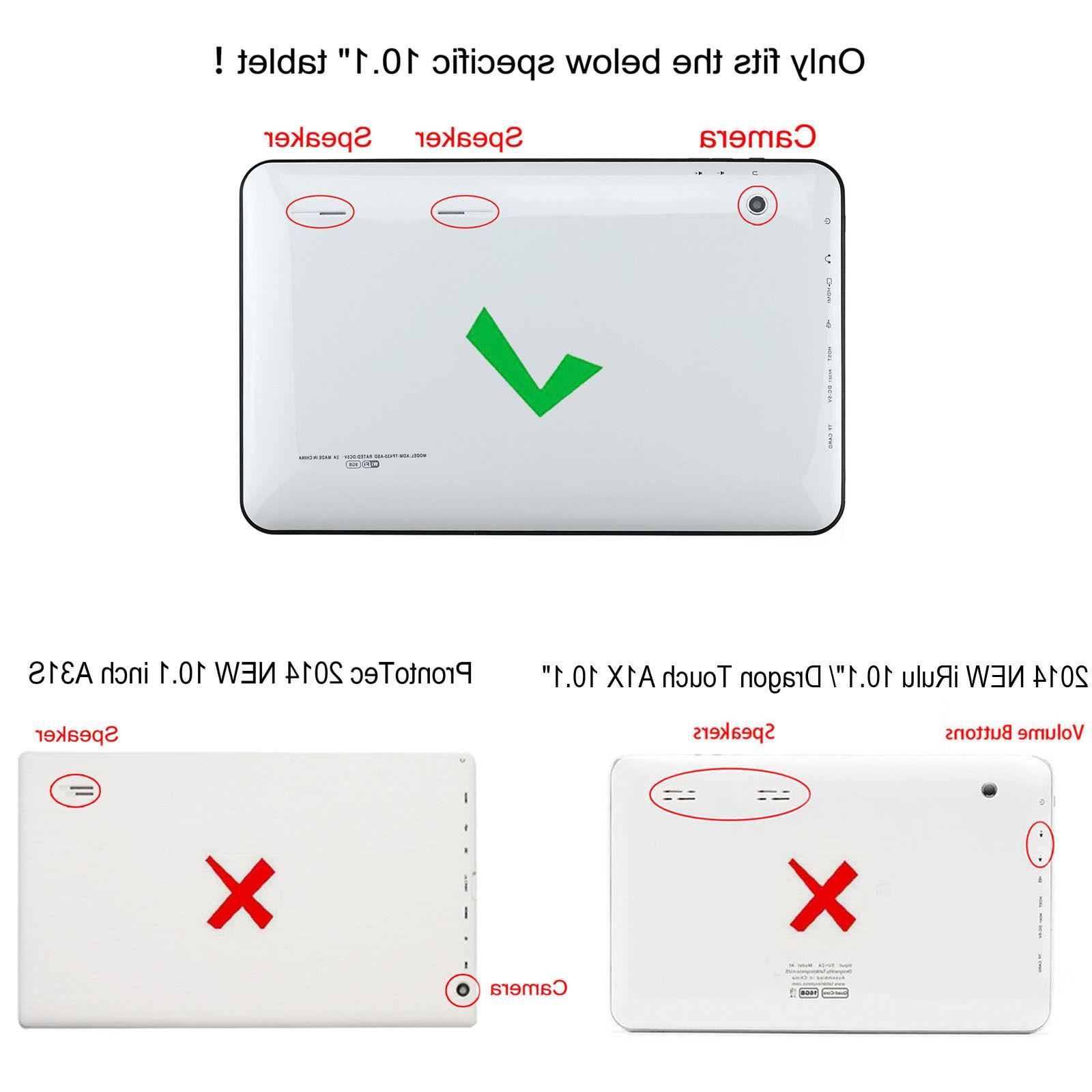 """For Touch A1/A1X/A1X Plus,Tagital 10.1"""" Tablet"""